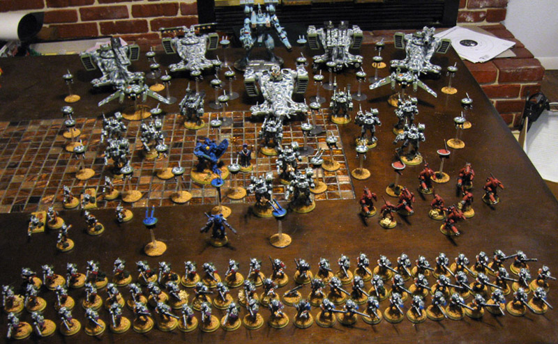 tau drone army with Tau on Watch furthermore 7766 Brandon 20Vallee 20Kroot likewise Tau Pathfinders A Review together with USS George Washington CVN 73 together with Page8.